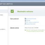Eset Smart Security - menu