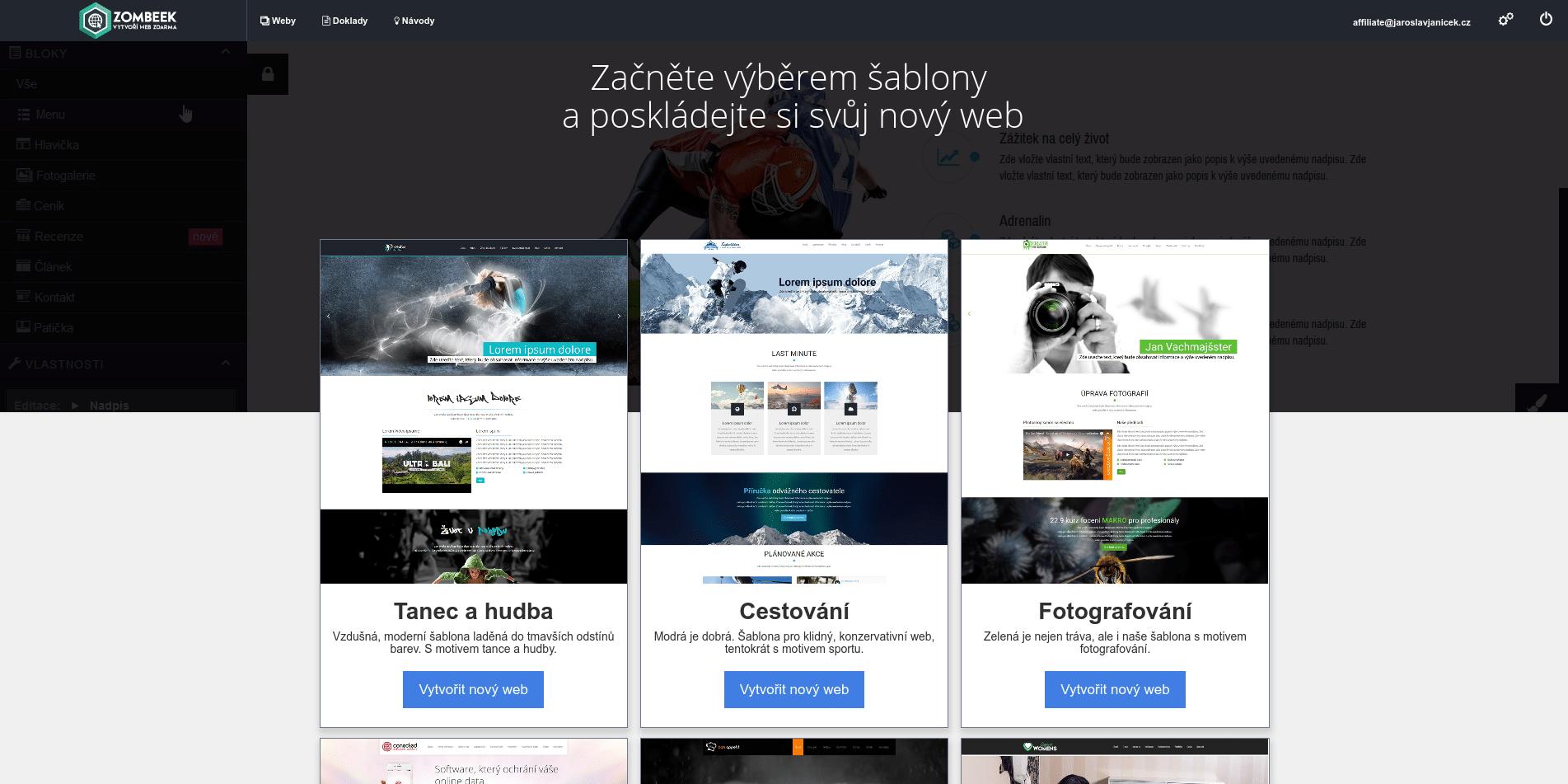 joomla seznamky web šablony