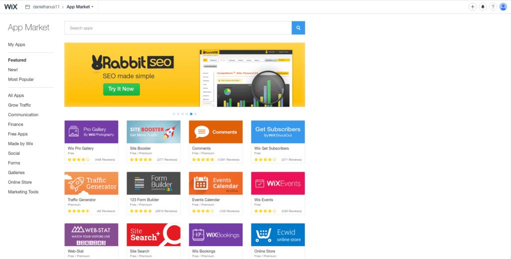 wix-app market
