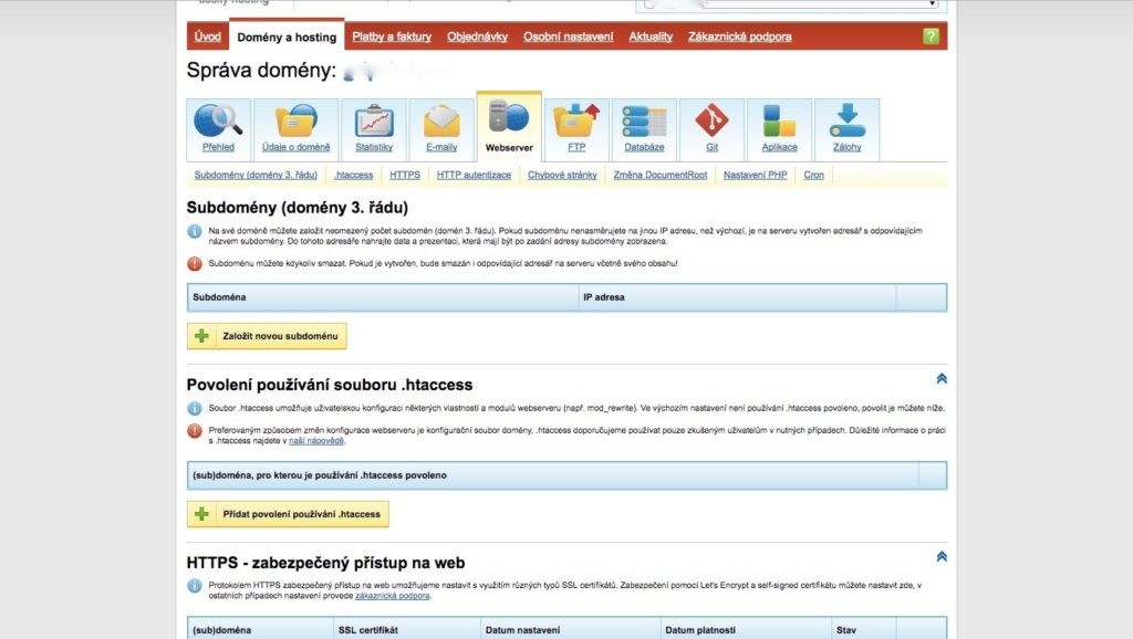 Cesky-hosting-webserver