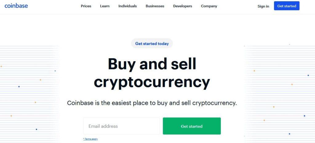 Coinbase Krypto Burza