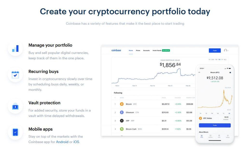 Coinbase Kryptomenova Burza