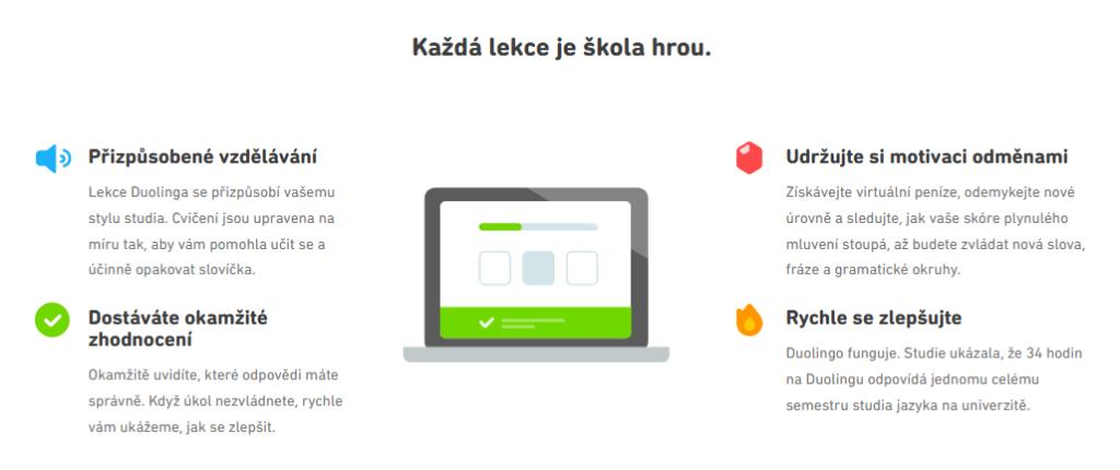 Duolingo Vyuka