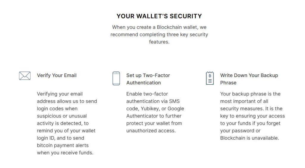 Blockchain Wallet Zabezpeceni