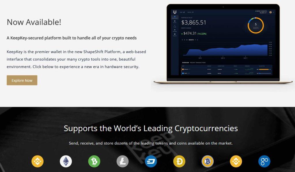 Keepkey Podpora Krypto
