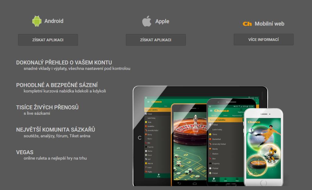 Chance Mobilni Aplikace