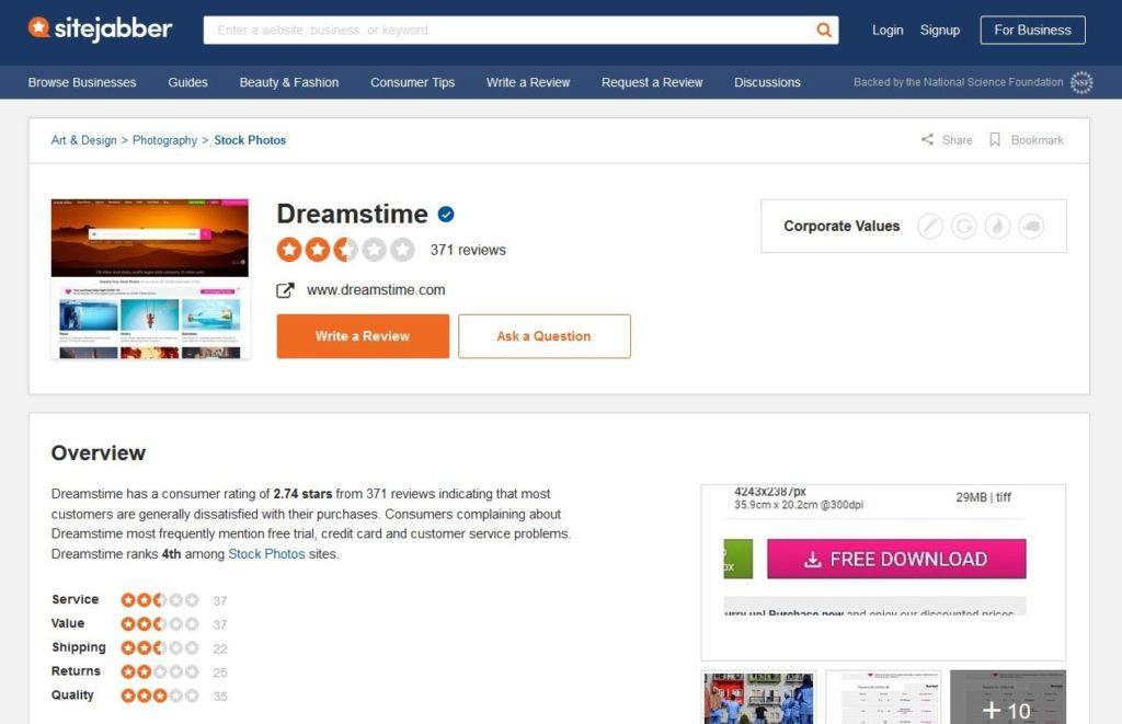Dreamstime Sitejaber