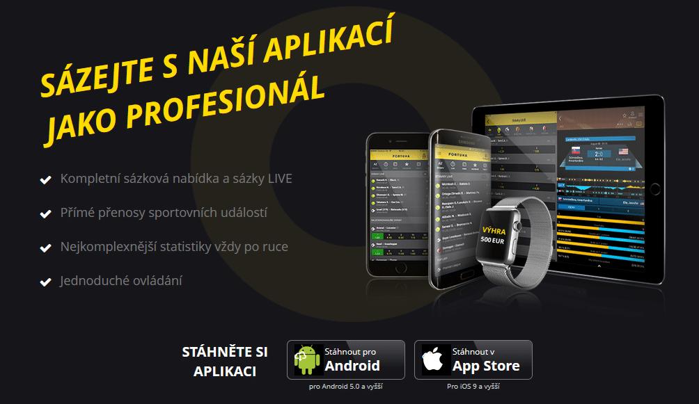 Fortuna Mobilni Aplikace