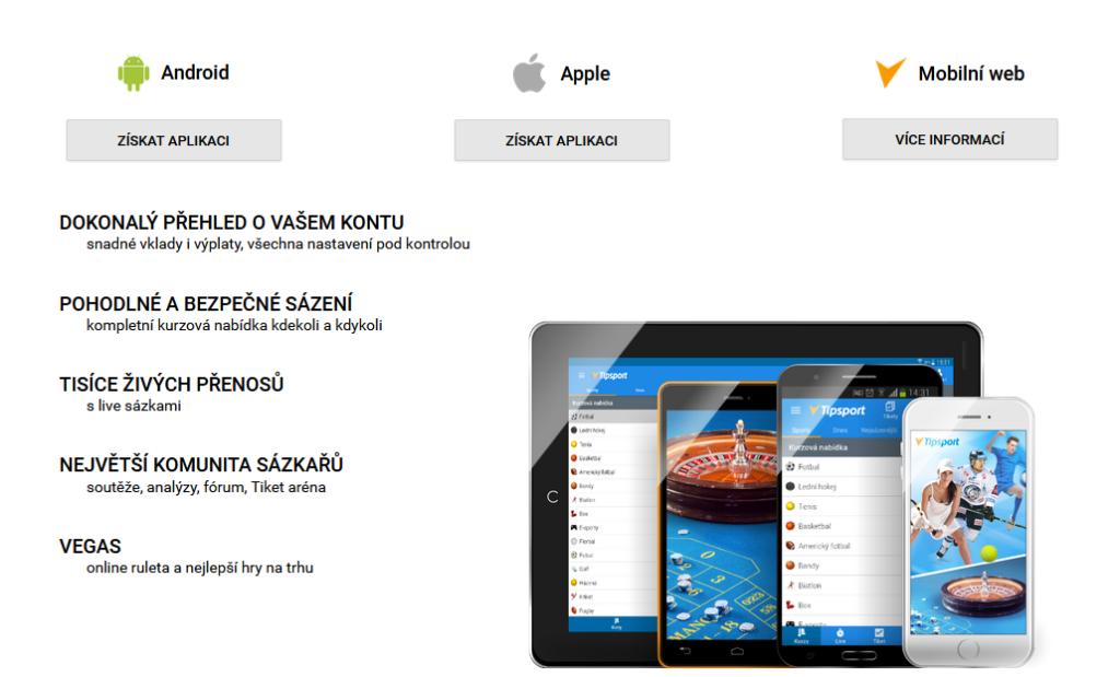Tipsport Mobilni Aplikace
