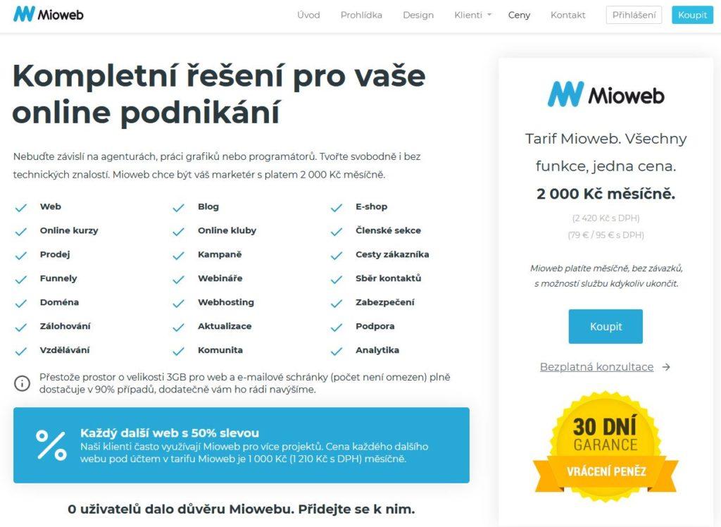 Mioweb Cenik