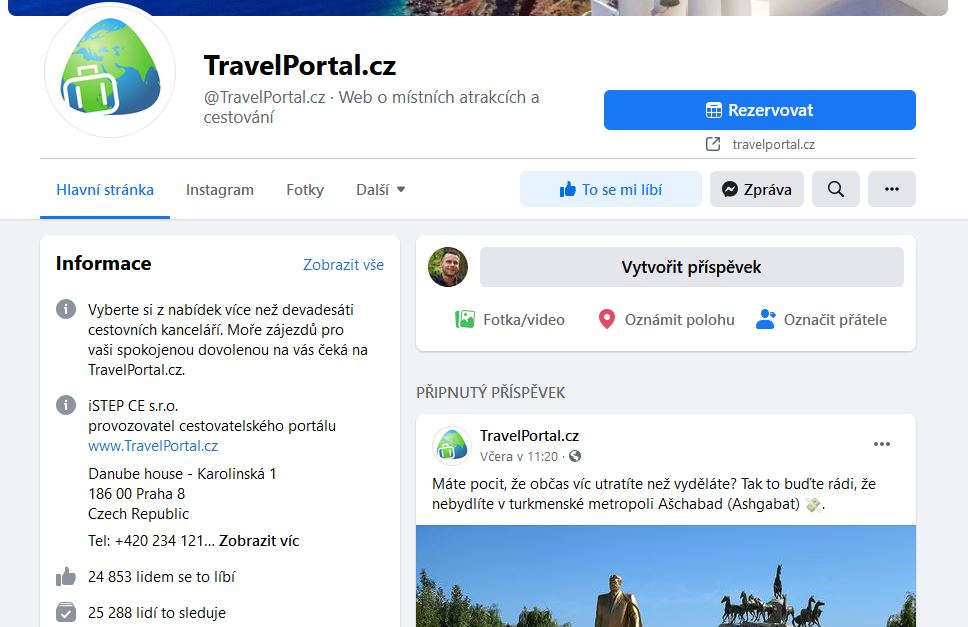 Travelportal Facebook