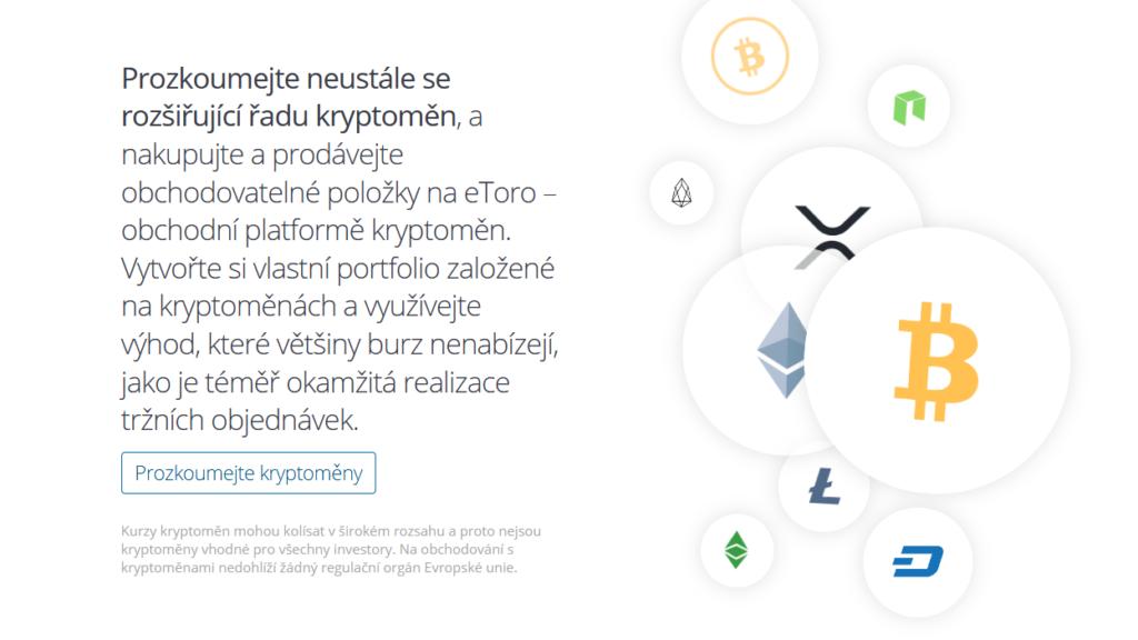 Etoro Kryptomeny