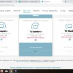 HorizonGO - nabídka tarifů