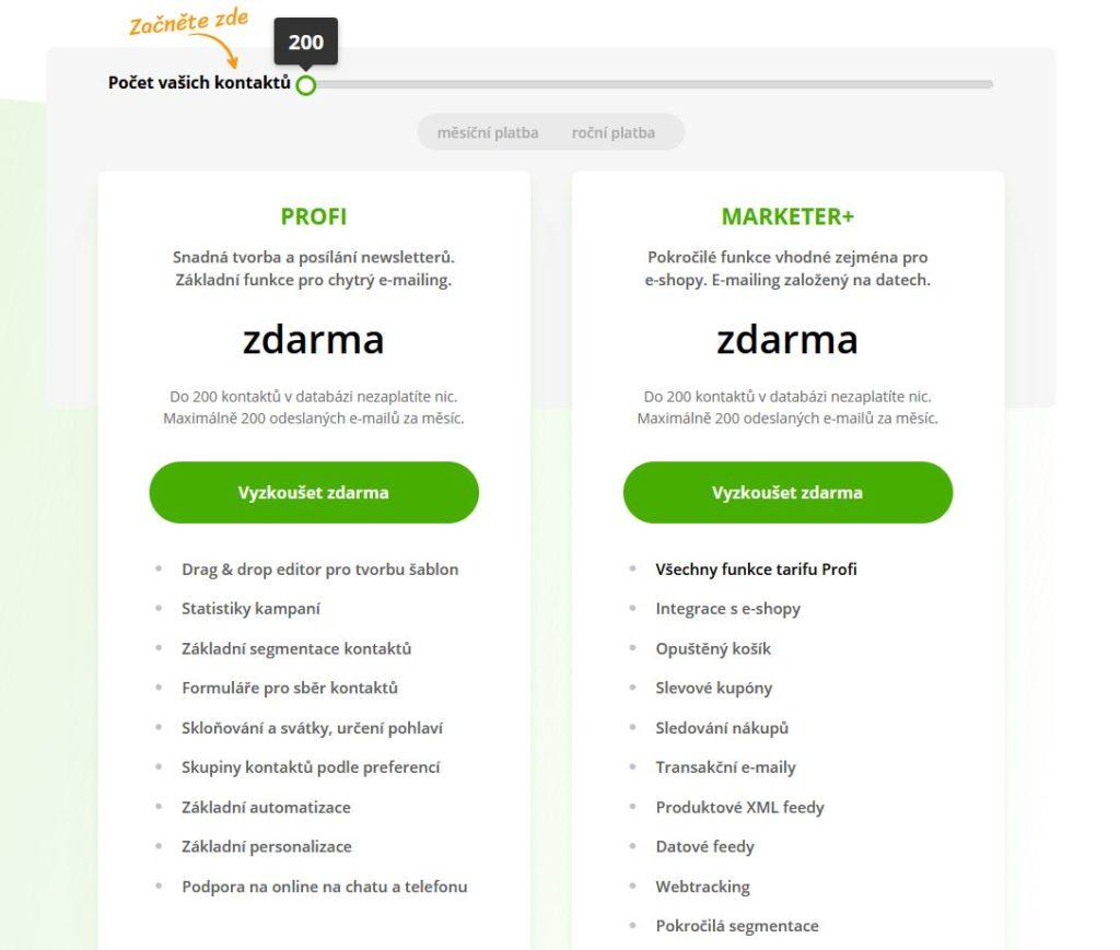 Ecomail Zdarma