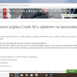 Creditportal - hotovost na cerpackach