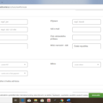 Creditportal - zadost o pujcku - vyplneni formulare