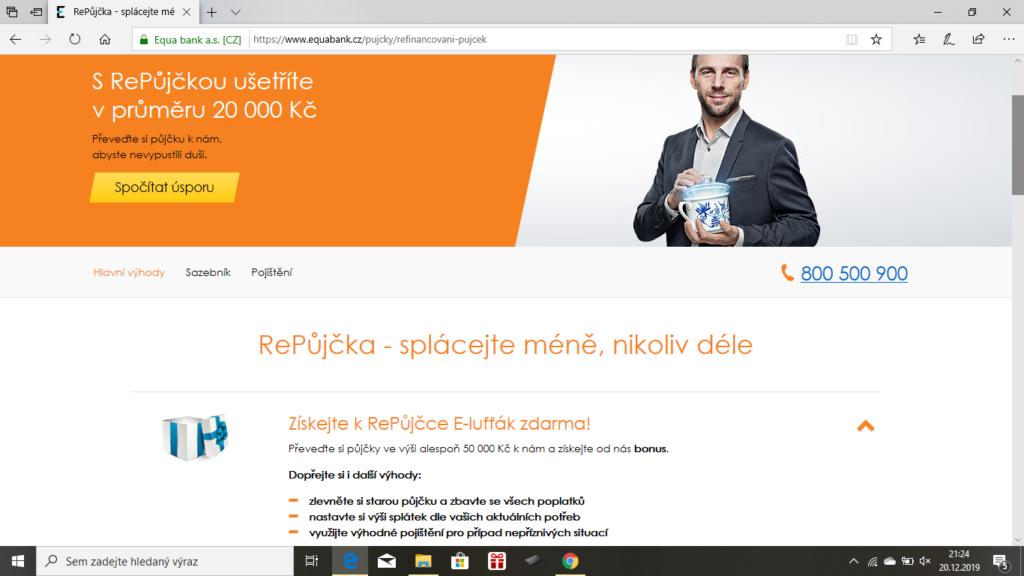 Equabank - RePujcka