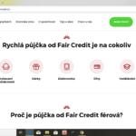 FairCredit - pujcka na cokoliv