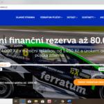 Ferratum - uvodni obrazovka