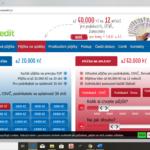 Novacredit - uvodni strana