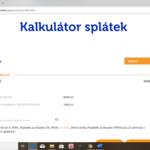 ferratum - kalkulator splatek