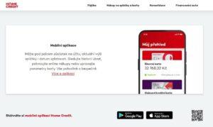 Homecredit Aplikace