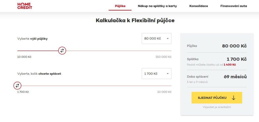 Homecredit Kalkulacka Pujcky