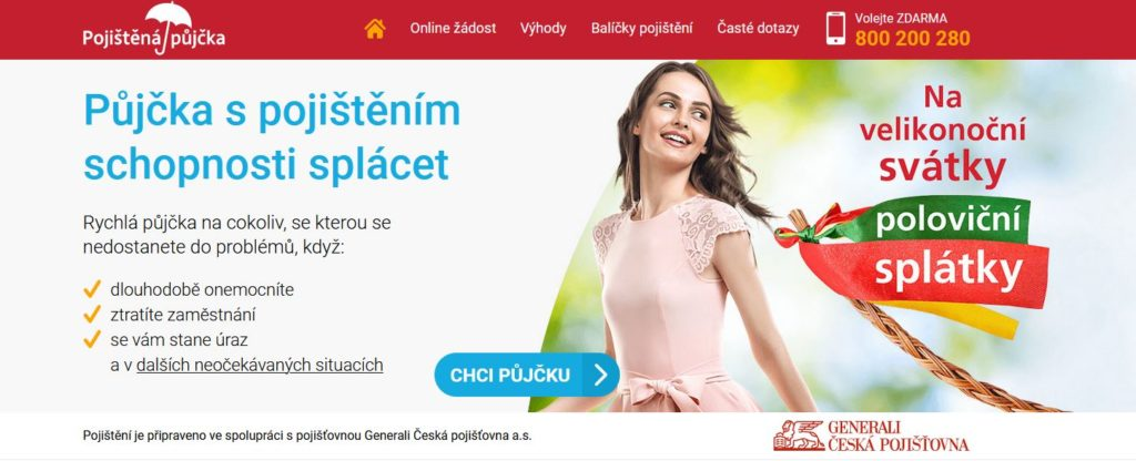 Profi Credit Pojistena Pujcka