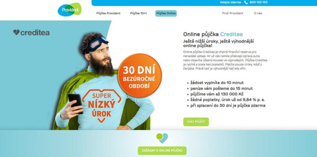 Provident Online Zadost
