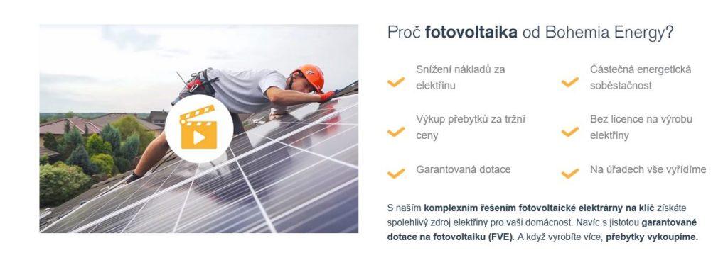 Bohemia Energy Fotovoltaika