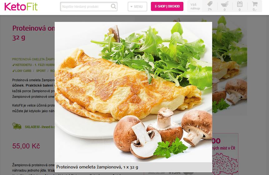 Ketofit Omeleta