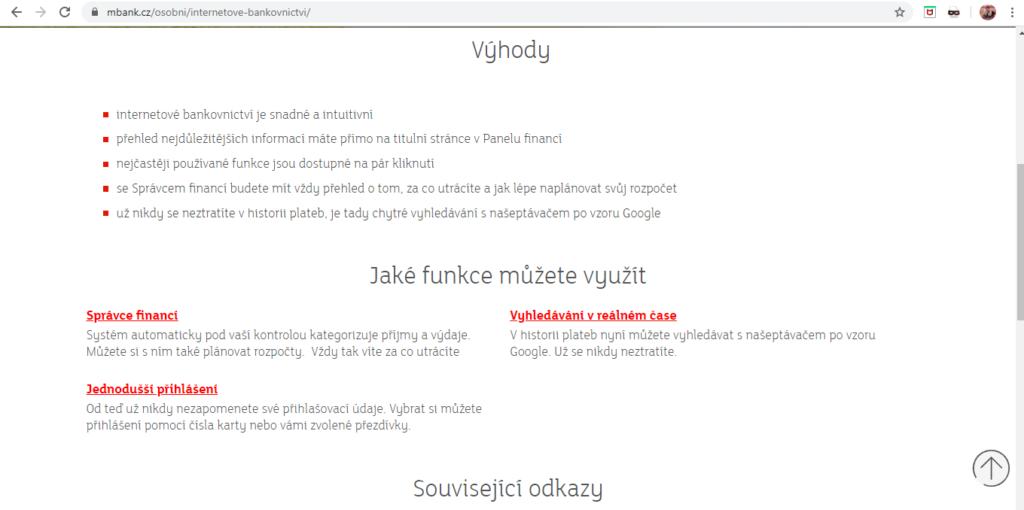 Mbank Internetove Bankovnictvi