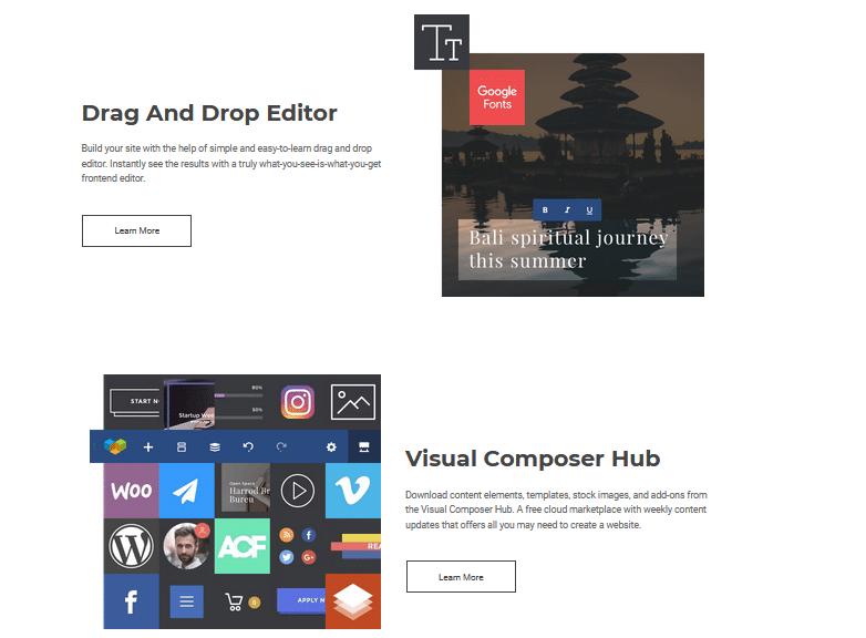 Visual Composer Hub A Drag Drop