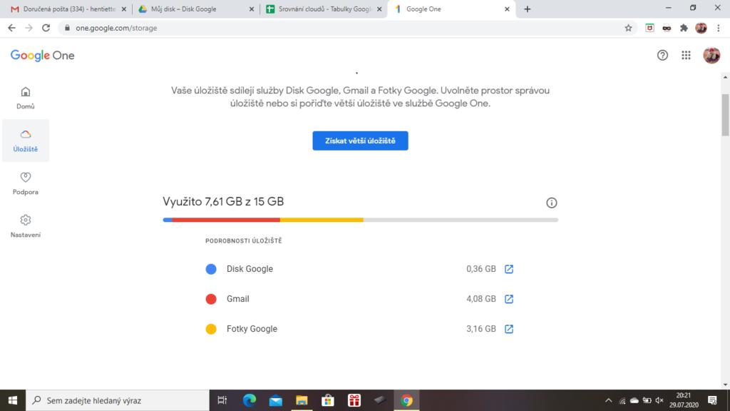 Googledrive Uloziste