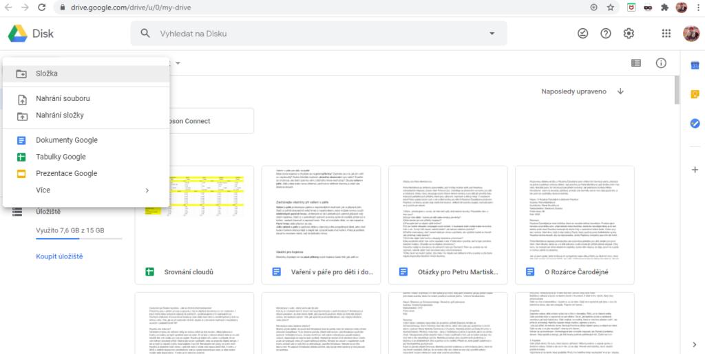 Googledrive Vytvoreni Slozky