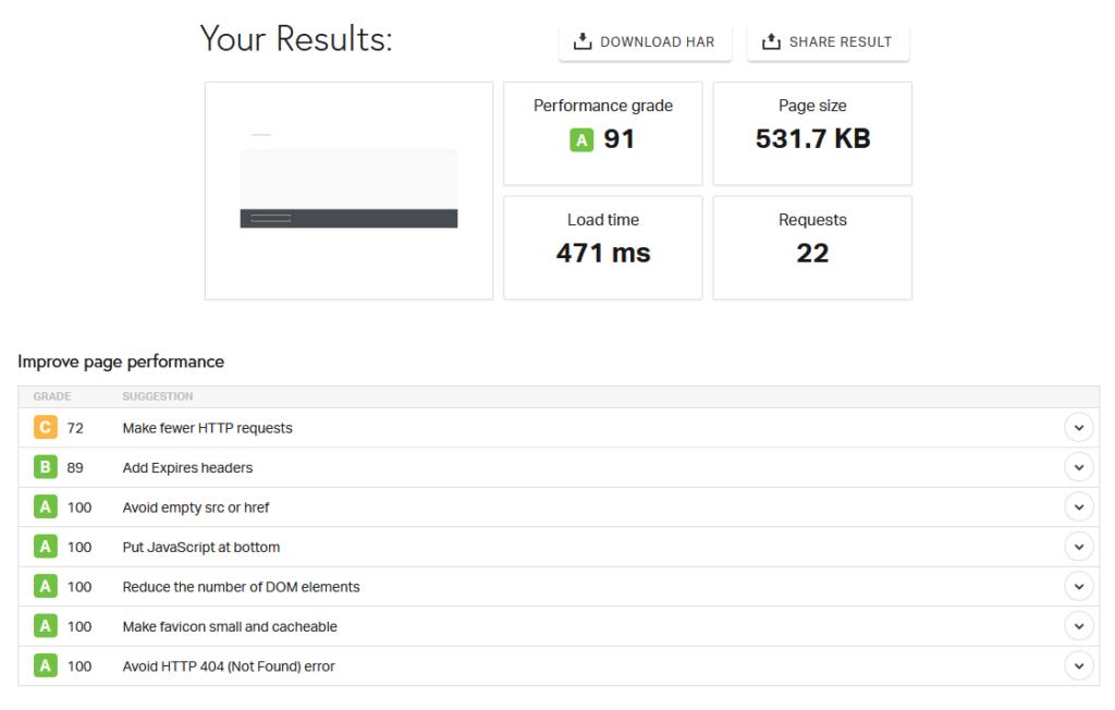 Websupport Pingdom Tools Test