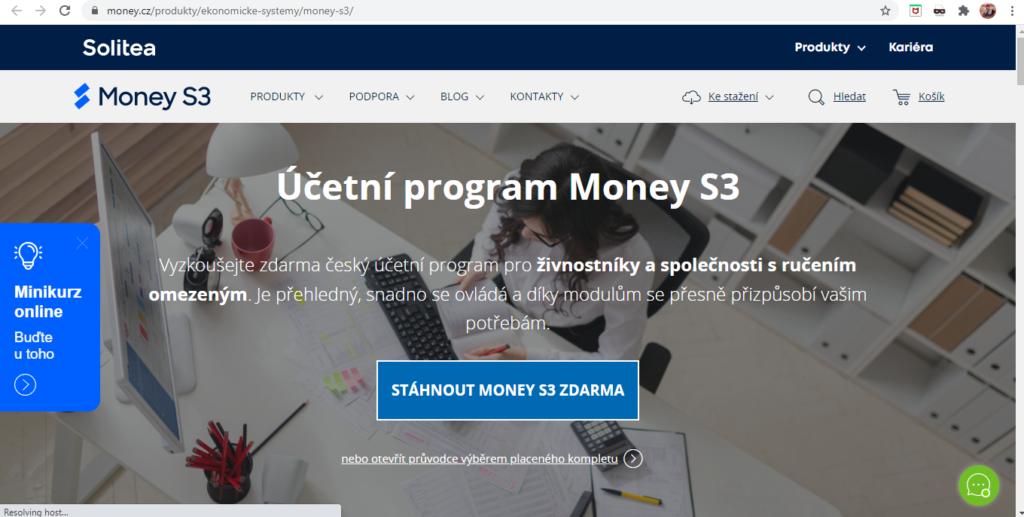 Money S3 Uvodni Strana Webu