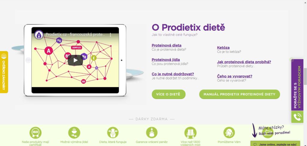 Prodietix Vice O Diete