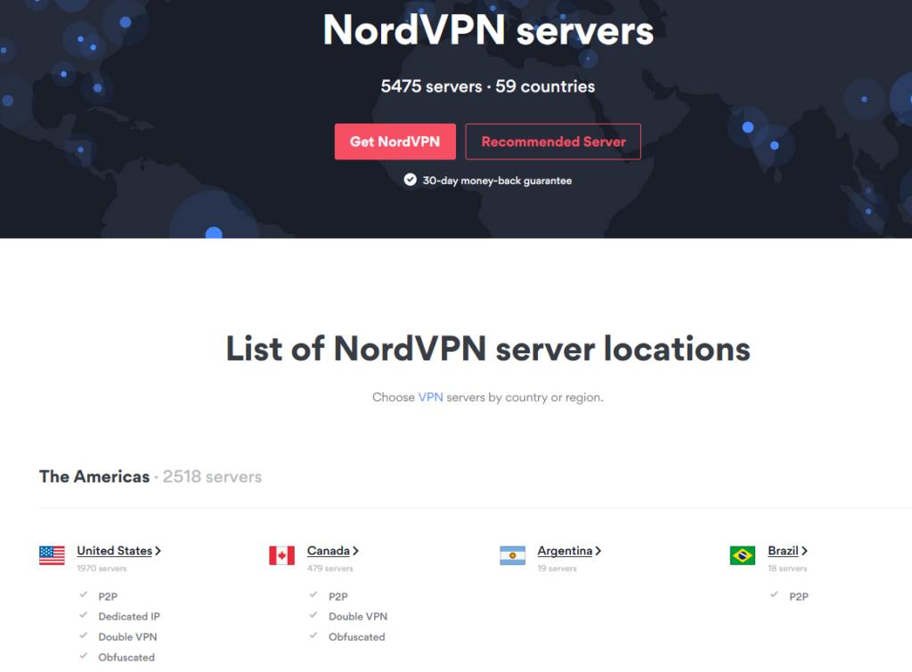 Nordvpn Servery A Lokality