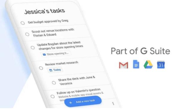 Google Task Gsuite