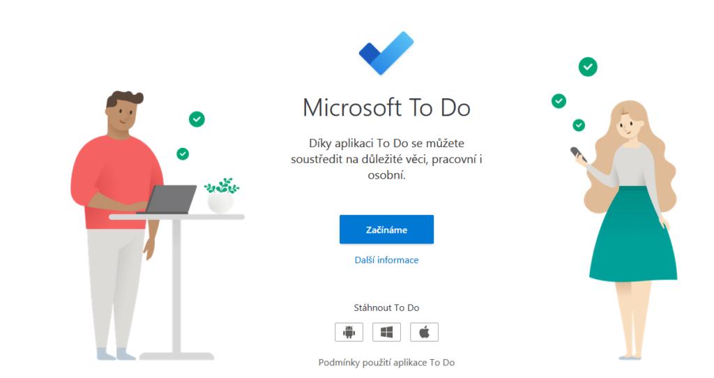 Microsoft To Do Hlavni Strana