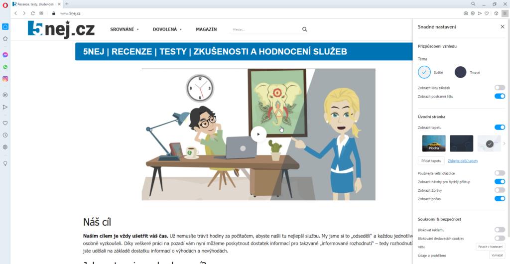 Opera Vpn Blokovani Reklam