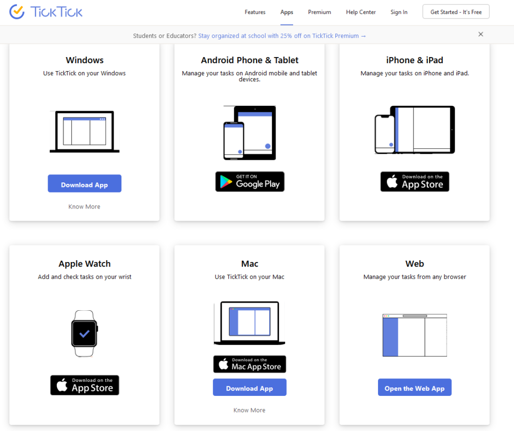 Ticktick Aplikace