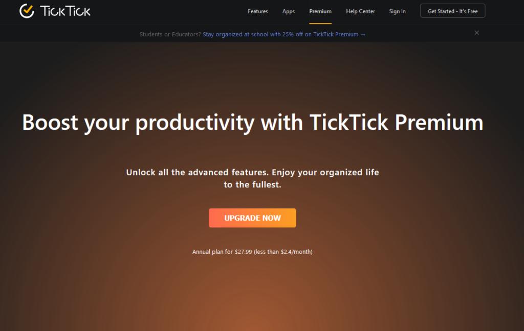 Ticktick Premium