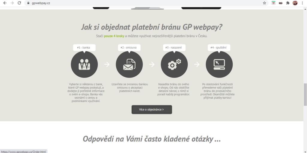 Gp Webpay 4 Kroky K Nastaveni Platebni Brany