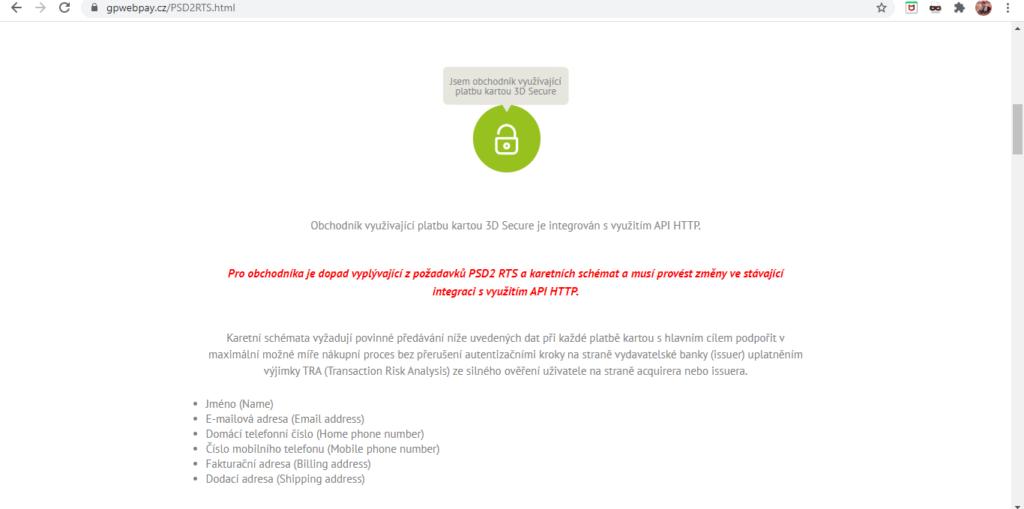 Gp Webpay Schema 3d Secure