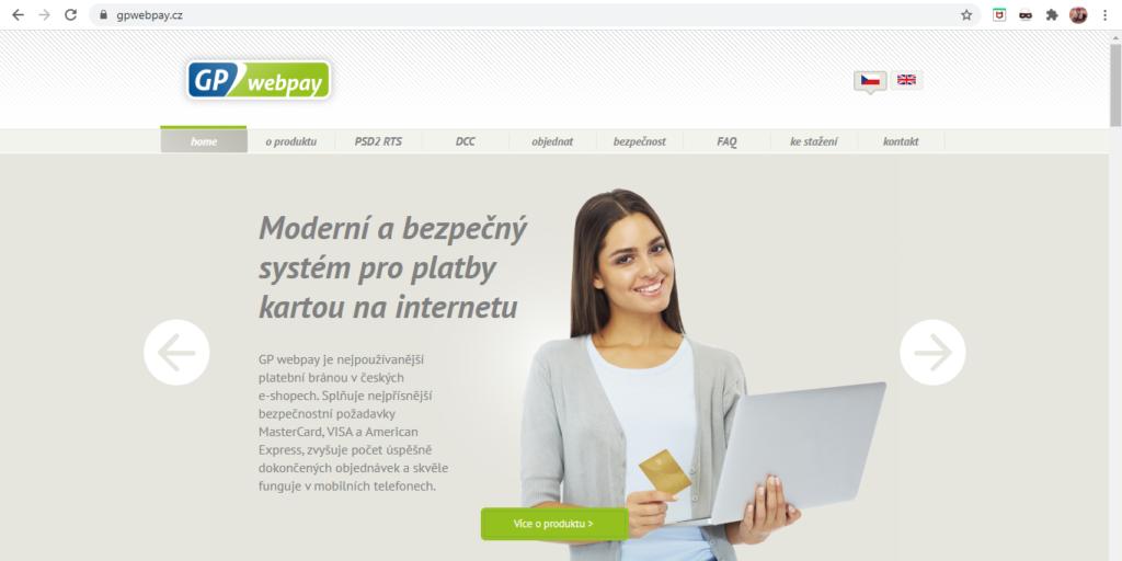 Gp Webpay Uvodni Strana