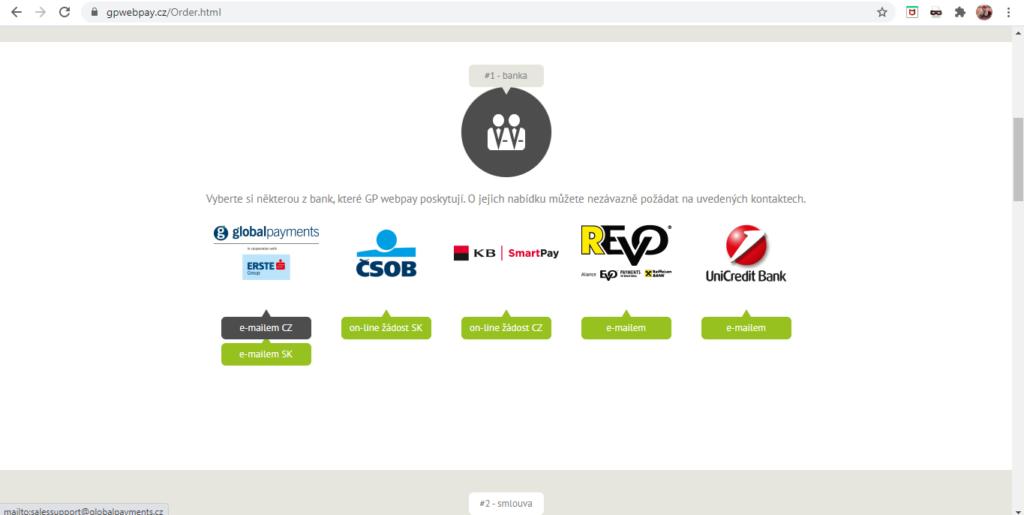 Gp Webpay Vyber A Kontakt Na Banku