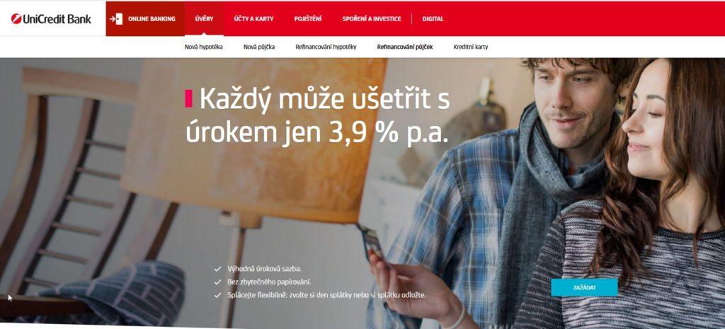 Unicredit Bank Konsolidace