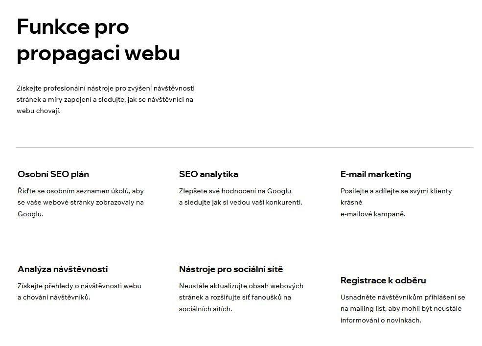 Wix Marketing